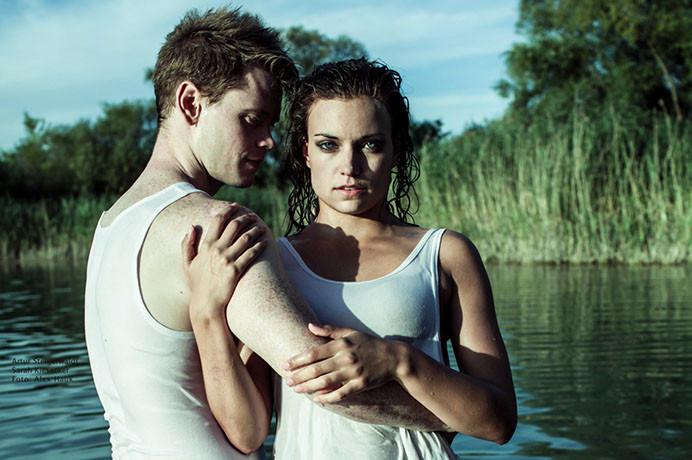 Sarah _ Artuhr Steigerwaldt Tanz im See
