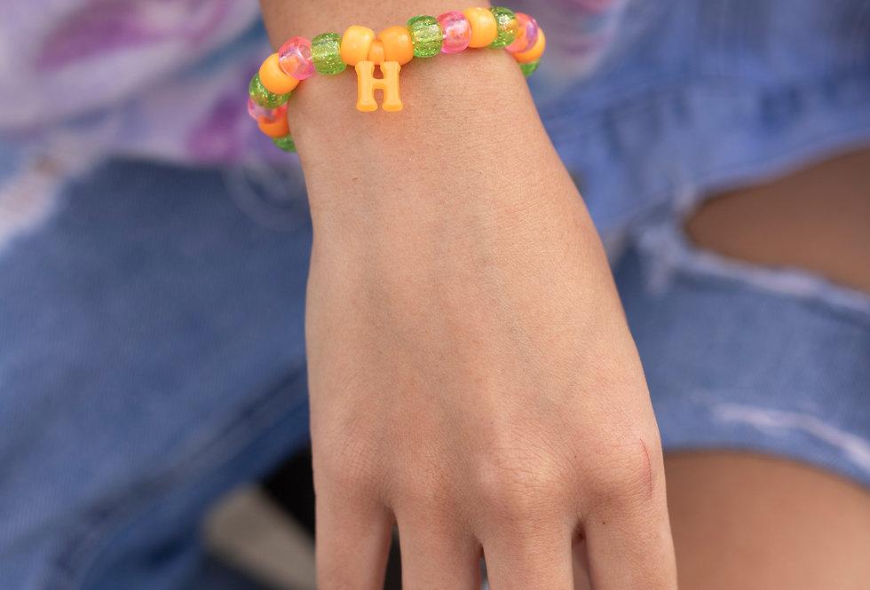 H Initial Bracelet
