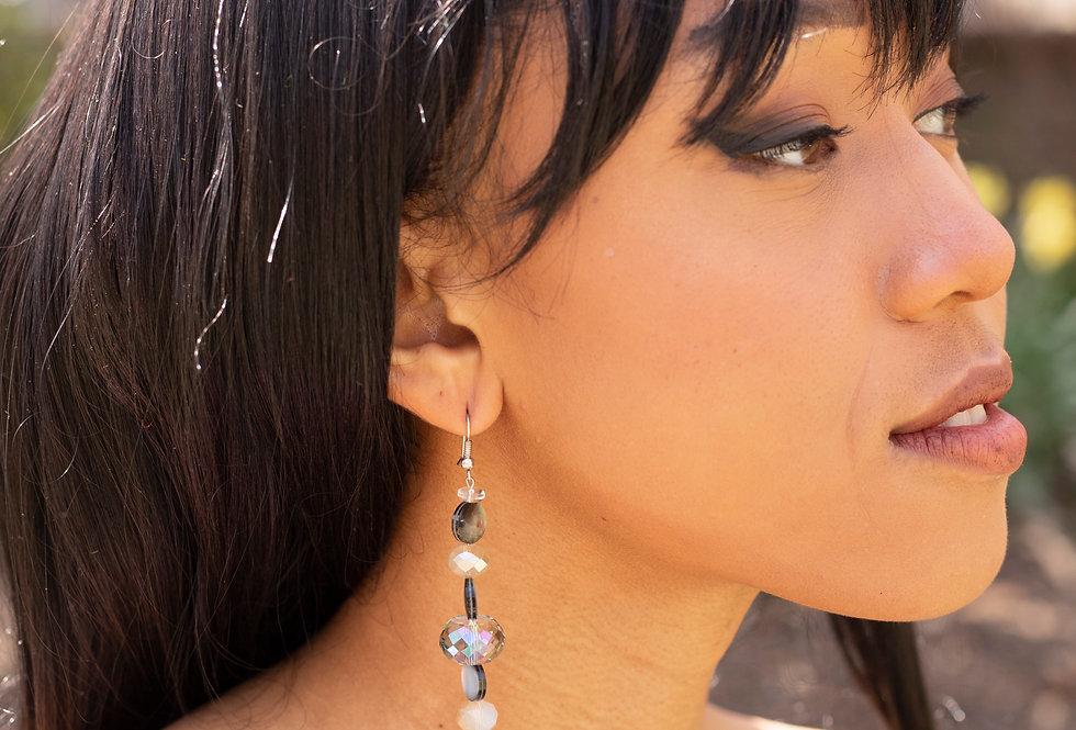 Stacked Bead Earrings