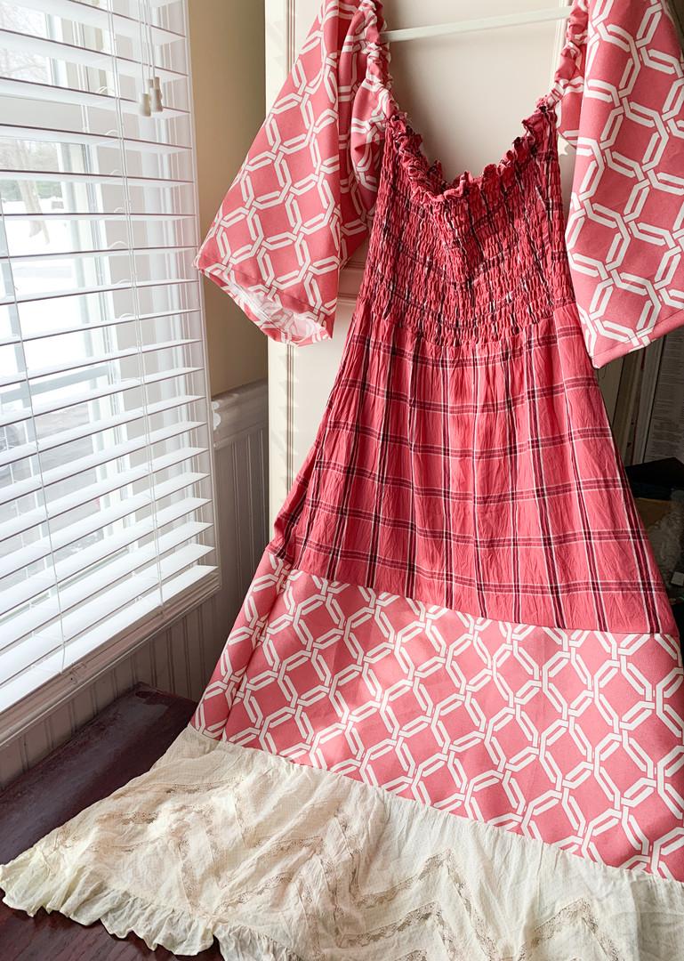 Custom Tiered Dress