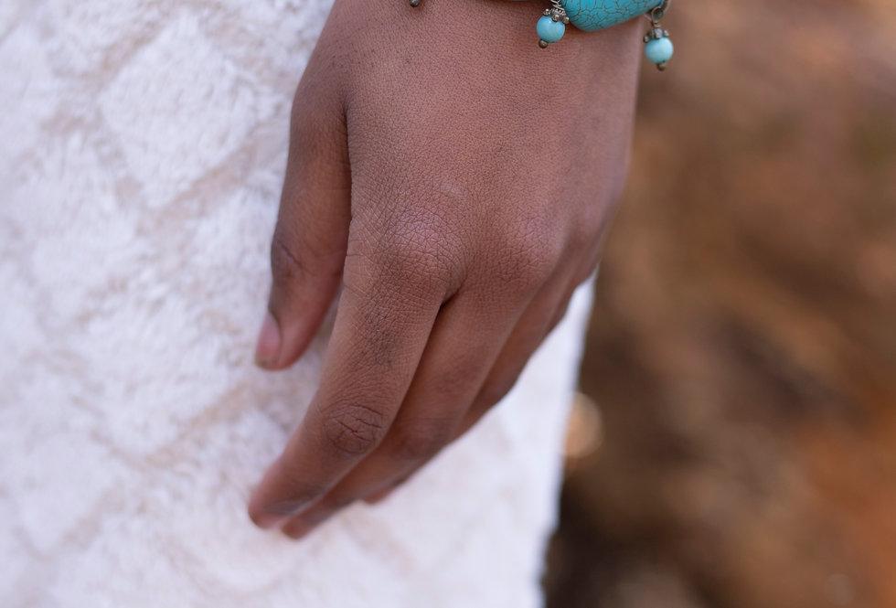 Turquoise Dangle Bracelet