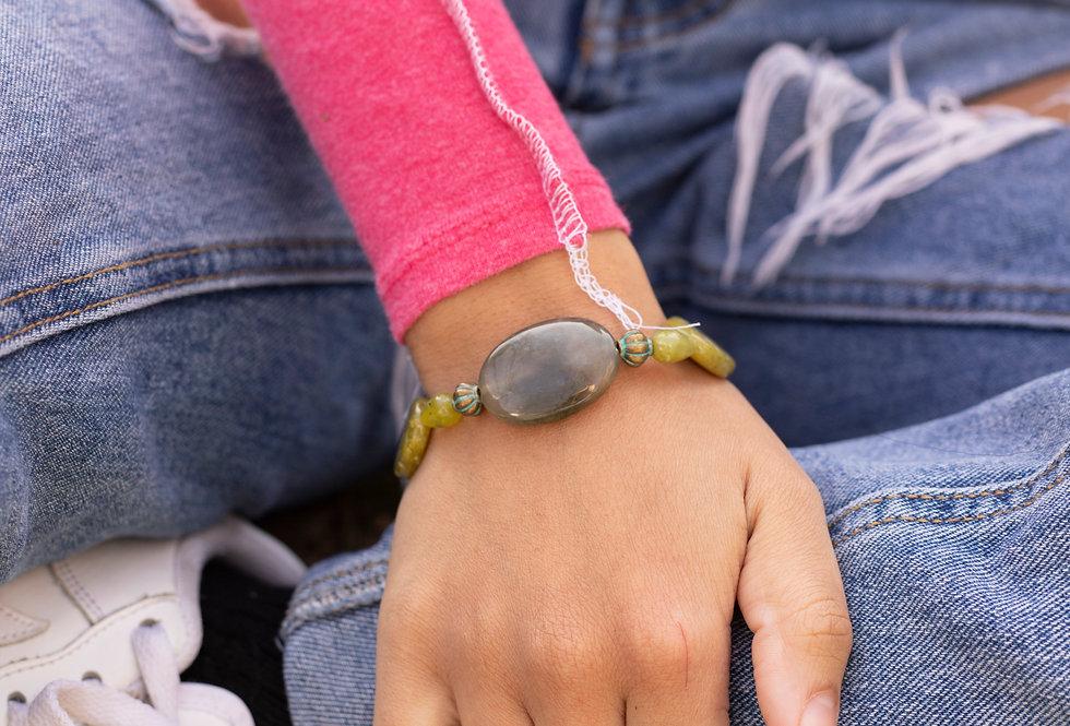 Green Stone Bracelet