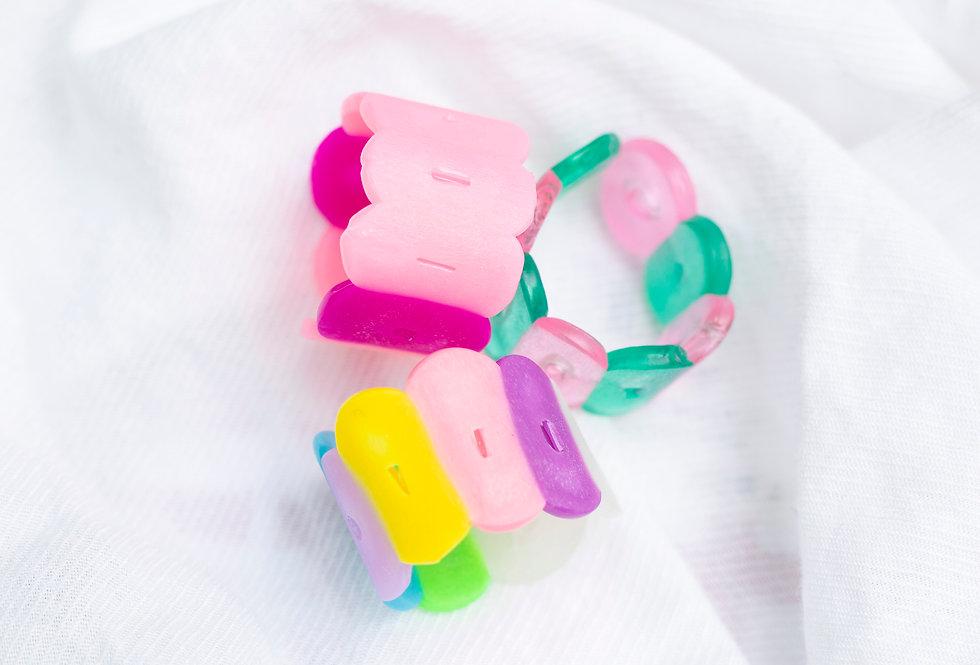 Pastel Ring Set