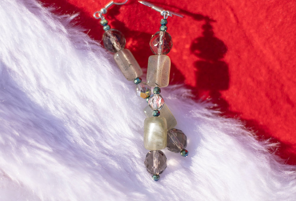 Mixed Bead Earrings