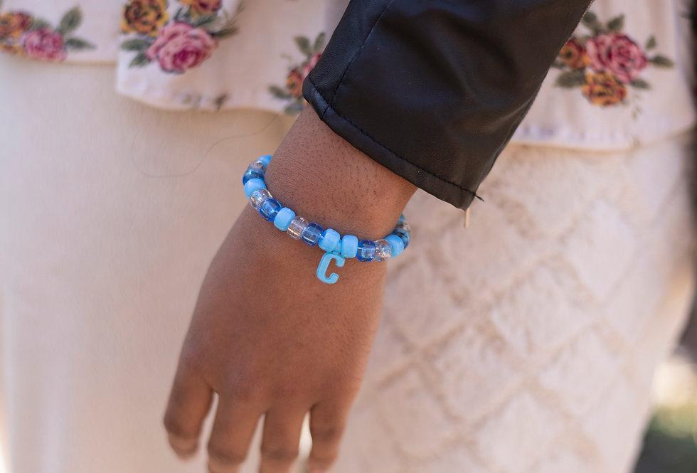 C Initial Bracelet
