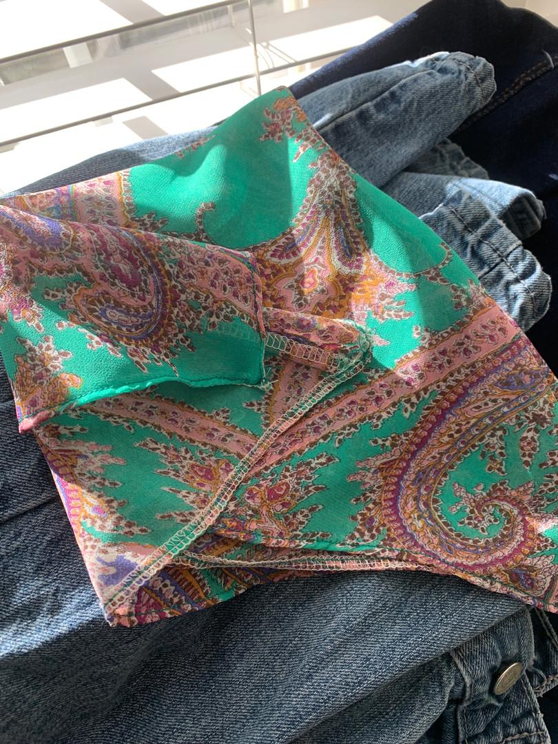 Custom Paisley Bandana