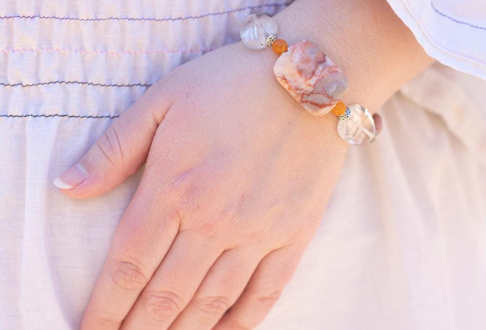 Crystal & Stone Bracelet