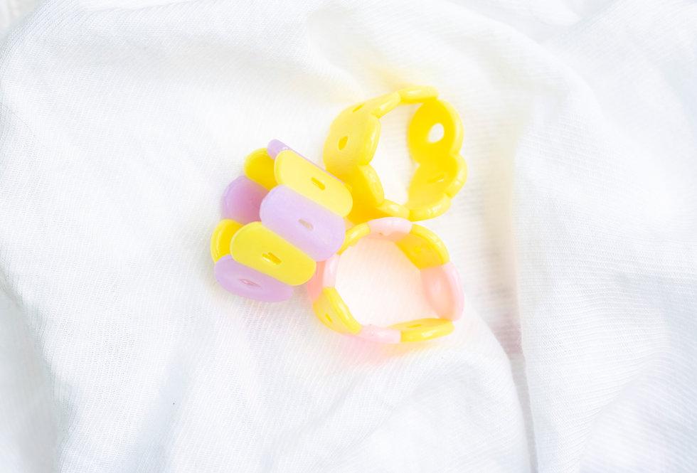 Yellow Ring Set