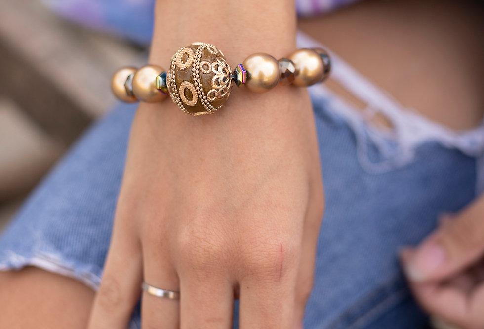 Gold Accent Bracelet