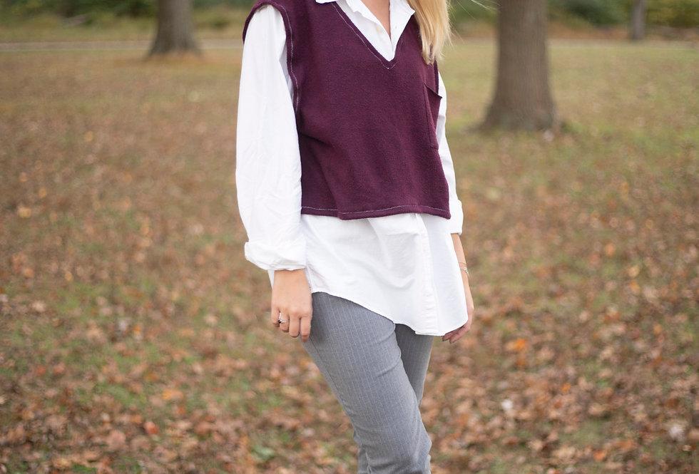 V-Neck Sweatervest