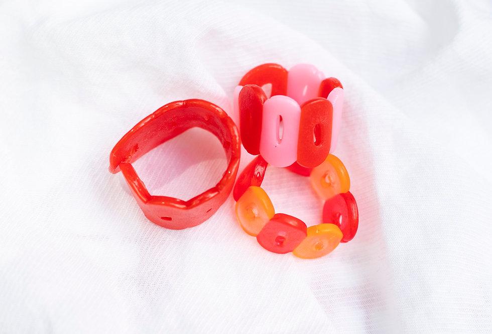 Red Ring Set