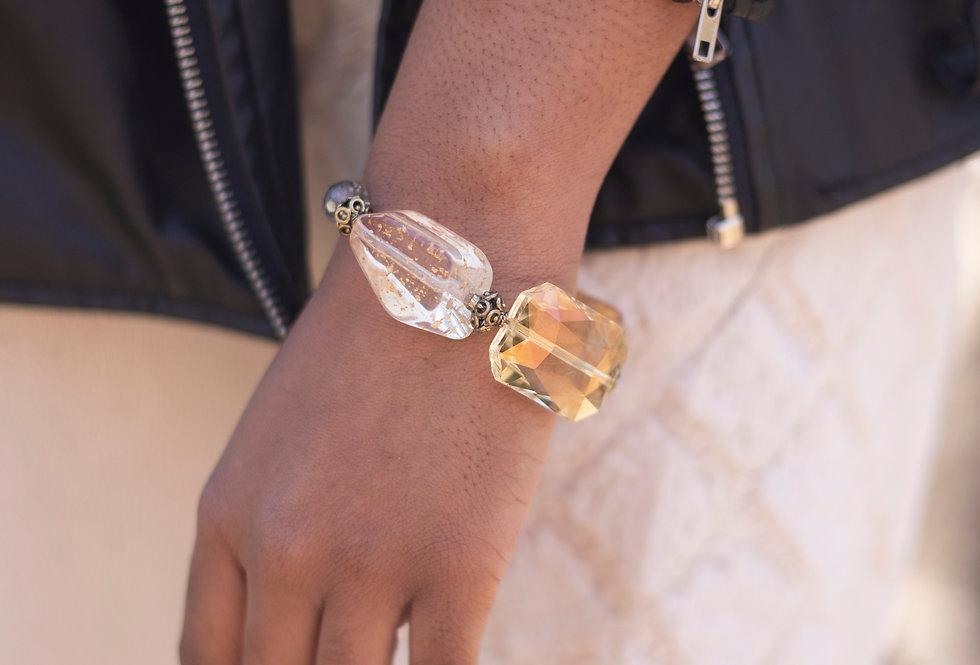 Gold Fleck Bracelet
