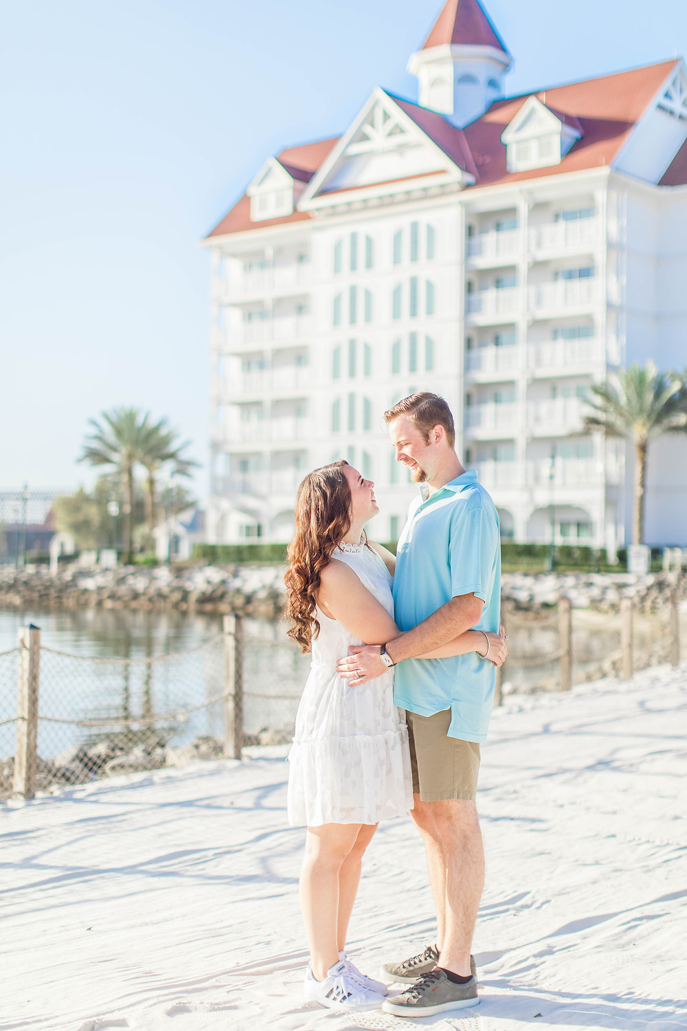 Walt Disney World Grand Floridian Anniversary Session by Katie Trauffer Photography