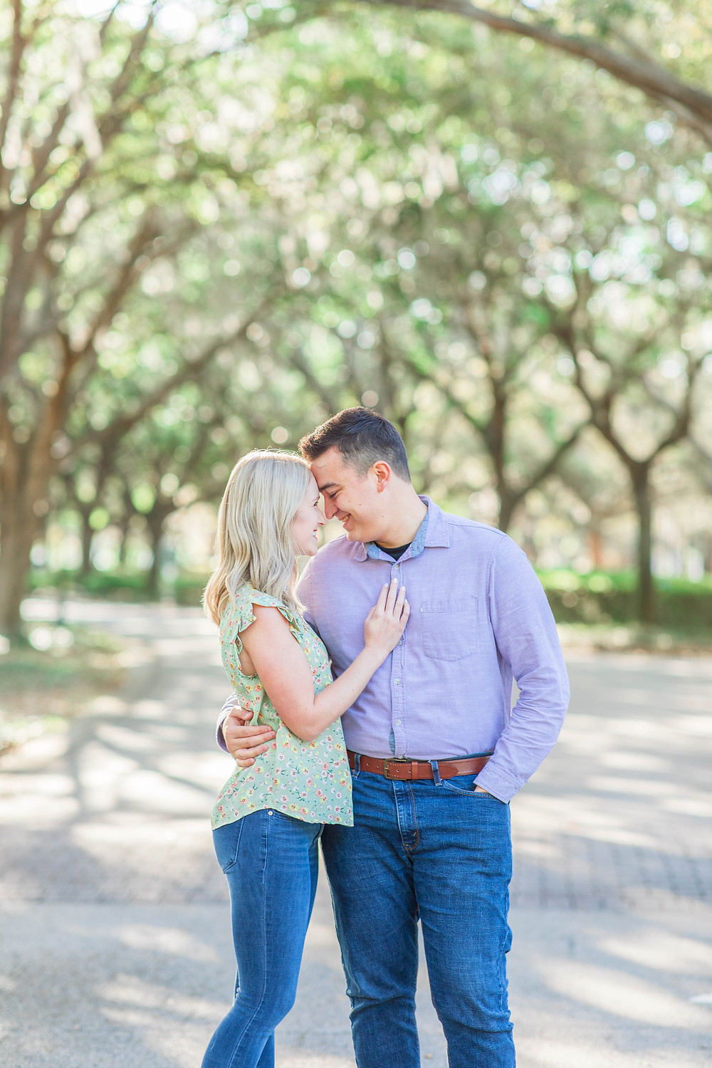 Cypress Grove Park Engagement Orlando Florida by Katie Trauffer Photography