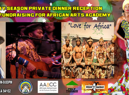 African Arts Academy End of Year Holiday Season Dinner Reception