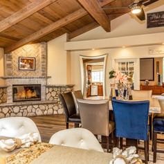 Cozy Informal Living & Dining Room