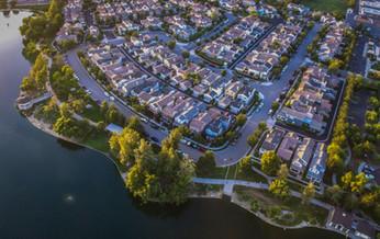 Harveston Lake Aerial