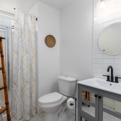 Upgraded Downstairs Bath