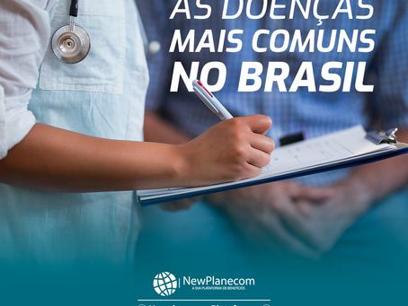 Doenças mais comuns no Brasil