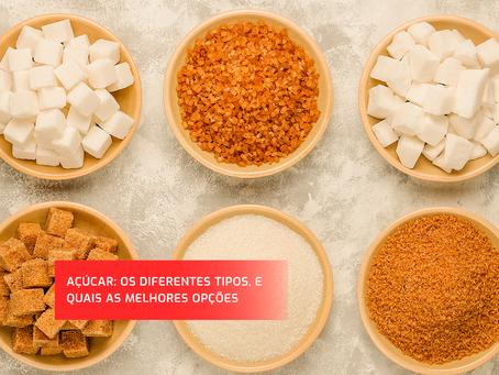 Qual o tipo de açúcar é considerado o mais saudável?