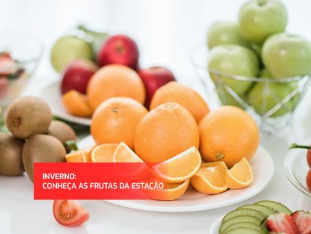 Frutas e verduras do inverno