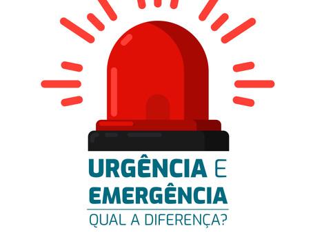 Urgência e Emergência: Qual a diferença?