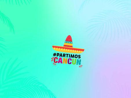 Veja como foi a viagem da Campanha #partiucancun !