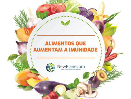 Alimentos que aumenta a imunidade