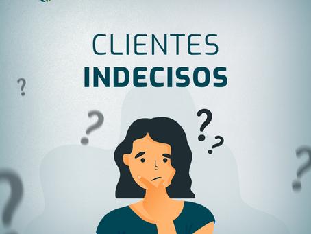 Como lidar com a indecisão do cliente?