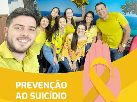 Leader em apoio a campanha de Setembro Amarelo
