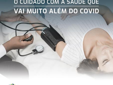 O cuidado com a saúde além do covid-19