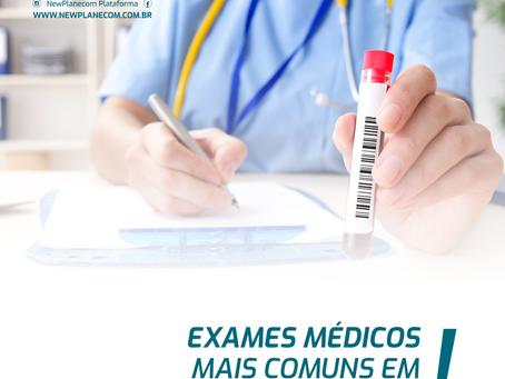 Exames médicos mais comuns