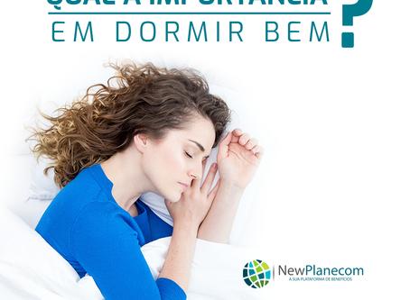 A importância de dormir bem