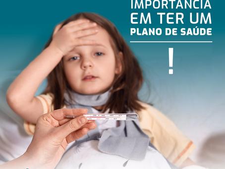 A importância do plano de saúde para a criança