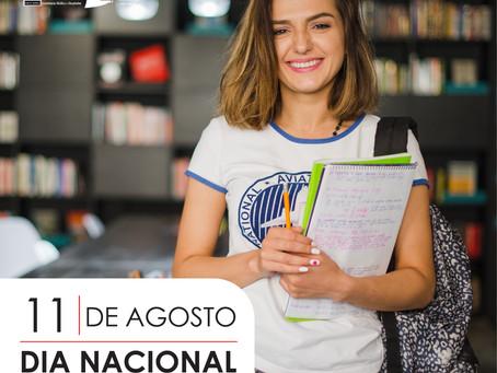 11 de agosto: Dia Nacional do Estudante