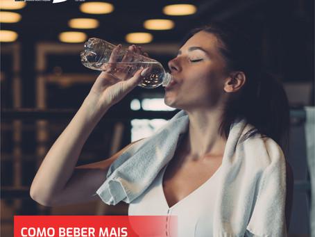 Como beber mais água durante o dia.