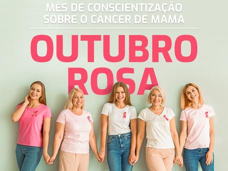 Outubro Rosa - Mês de Conscientização Sobre o Câncer de Mama