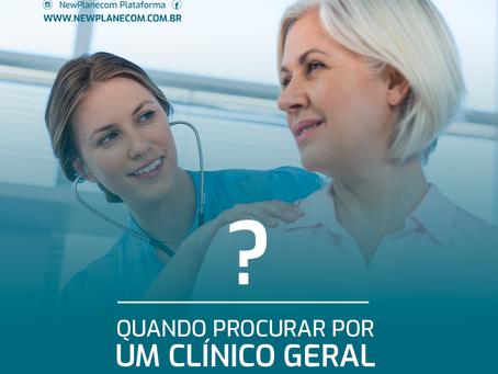 Clínico geral ou médico especialista?