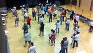 Salle de danse à l'Escandille