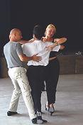 Danse sportive à Autrans en août 2018