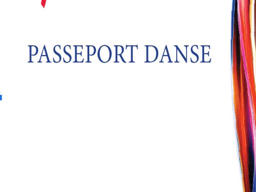 """Le """"Passeport Danse"""", c'est quoi ?"""