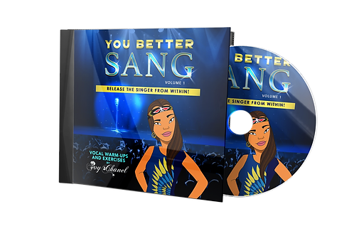 The Better Sang - Release The Sing from within! (Volume 1) Warm-up and Exercise