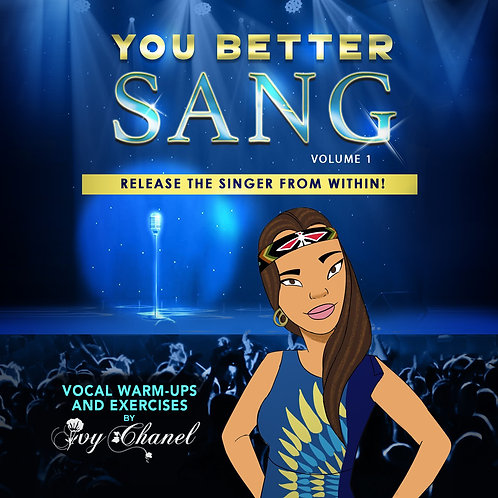 The Better Sang - Release The Sing from within! (Volume 1) Exercises Digi-Pack