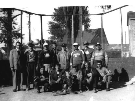 Équipe de balle-molle de St-Josaphat 1950