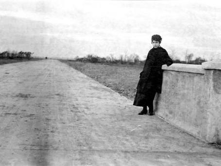 Pavage rue Joliette Montréal-Sud (Longueuil) 1915