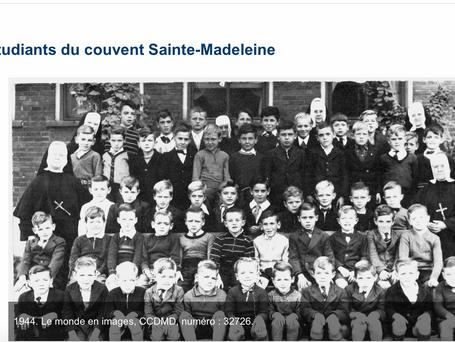 Étudiants du convent Ste-Madeleine