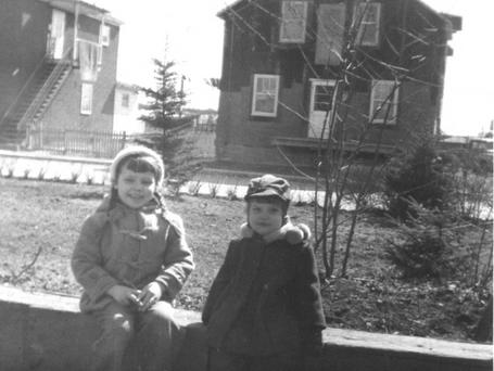 Enfants ville Lemoyne 1950