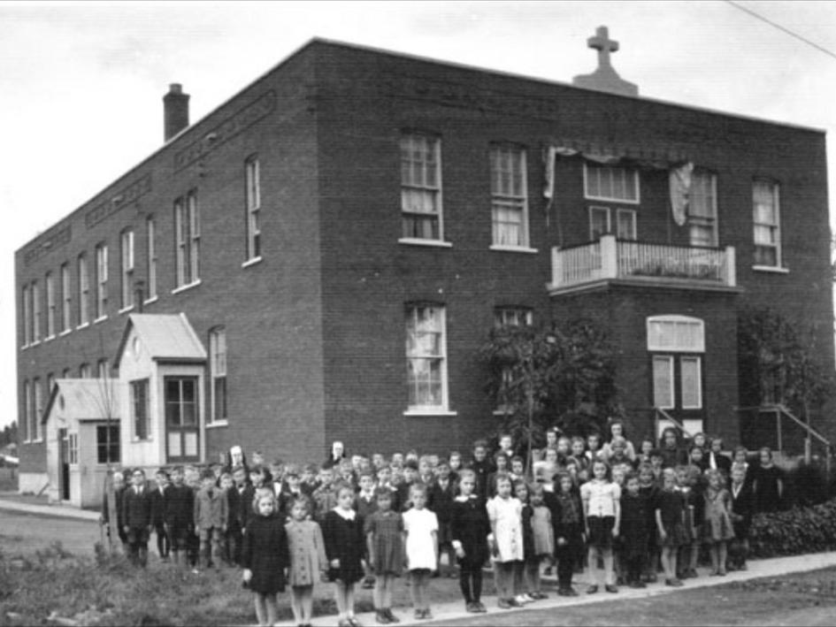 École St-Josaphat 1944