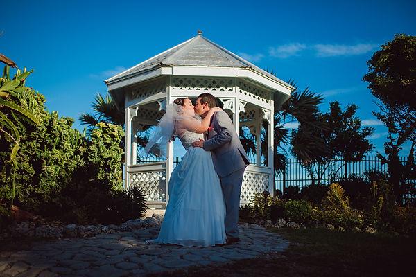 Key West garden club wedding
