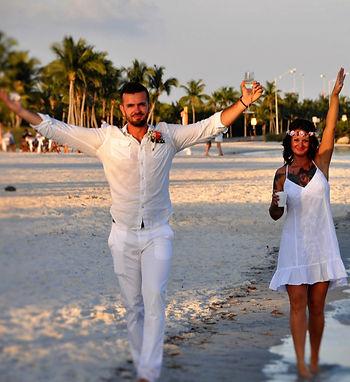 Smathers beach key west fl wedding